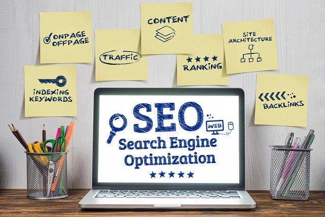 seo optimizacija ekran
