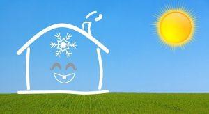 klimatske naprave hiša